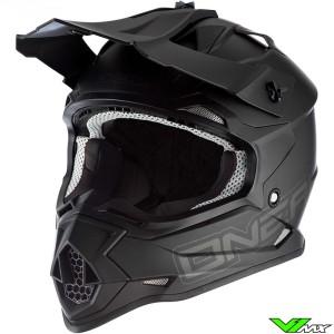 Oneal 2 Series Motocross Helmet - Flat / Matt Black