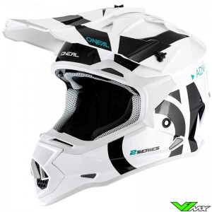 Oneal 2 Series Motocross Helmet - Slick / White