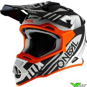 Oneal 2 Series Motocross Helmet - Spyde / Orange
