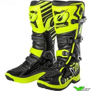 Oneal RMX Motocross Boots - Fluo Yellow