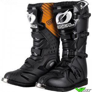Oneal Rider Motocross Boots - Black (41)