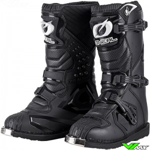 Oneal Rider Youth Motocross Boots - Black