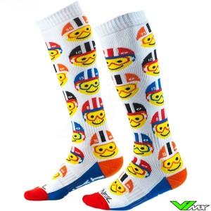 Oneal MX Sock - Emoji Racer