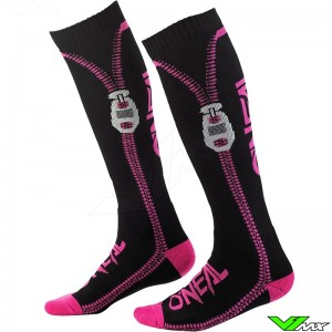 Oneal MX Sock - Zipper / Pink