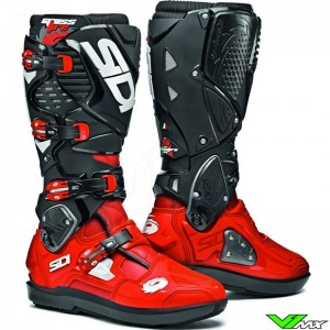 Sidi Crossfire 3 SRS Motocross Boots - Red / Black