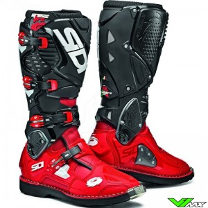 Sidi Crossfire 3 Motocross Boots - Red / Black