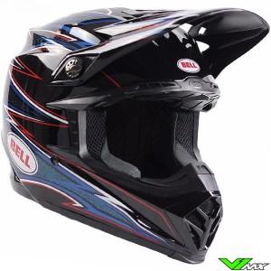 Bell Moto-9 Motocross Helmet - Airtrix Shards