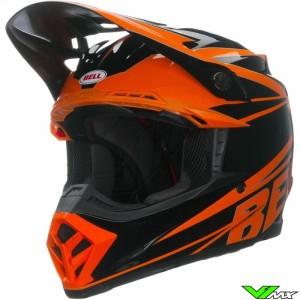 Bell Moto-9 Crosshelm - Tracker / Oranje (M/L)