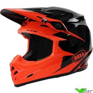Bell Moto-9 Motocross Helmet - Intake / Infrared (XL/XXL)