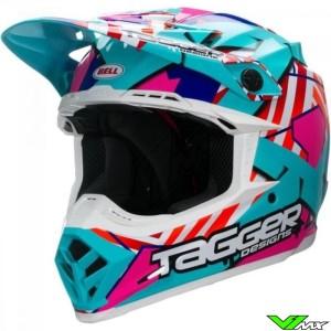 Bell Moto-9 Motocross Helmet - Tagger