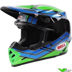 Bell Moto-9 Motocross Helmet - Airtrix Strance