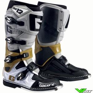 Gaerne SG-12 Motocross Boots - Grey / Magnesium