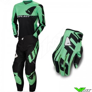 UFO Division 2020 Motocross Gear Combo - Sky