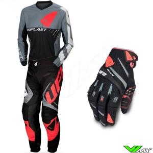 UFO Division 2020 Motocross Gear Combo - Black