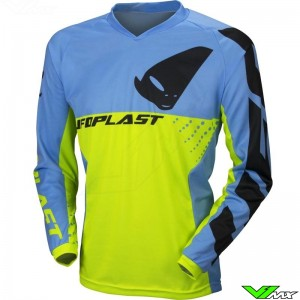 UFO Division 2020 Cross shirt - Fluo Geel