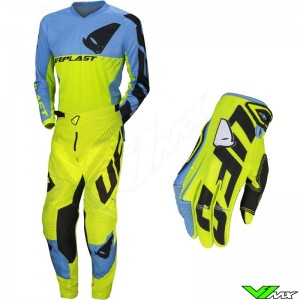 UFO Division 2020 Motocross Gear Combo - Fluo Yellow