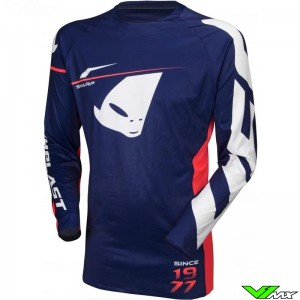 UFO Slim Sharp 2020 Motocross Jersey - Dark Blue