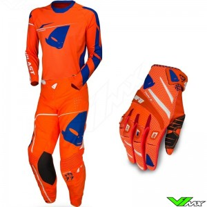 UFO Slim Sharp 2020 Motocross Gear Combo - Orange