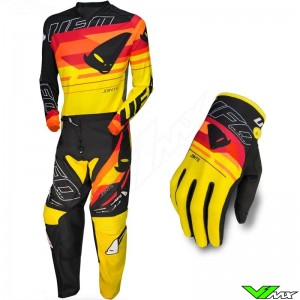 UFO Joint 2020 Motocross Gear Combo - Yellow / Red