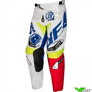 UFO Draft 2020 Motocross Pants - White / Red