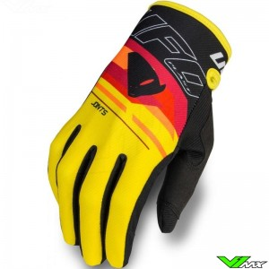 UFO Joint 2020 Motocross Gloves - Yellow / Red