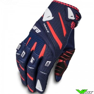 UFO Trace 2020 Motocross Gloves - Dark Blue