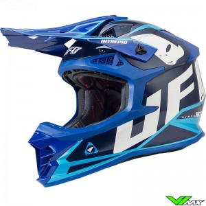 UFO Intrepid Motocross Helmet - Blue