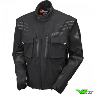 UFO Taiga Enduro Jacket - Black