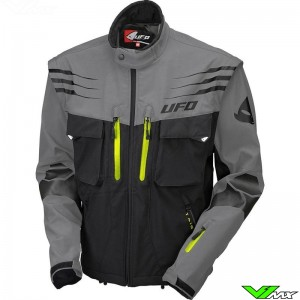 UFO Taiga Enduro Jacket - Grey / Black