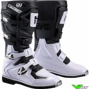 Gaerne GX-J Motocross Boots - Black / White
