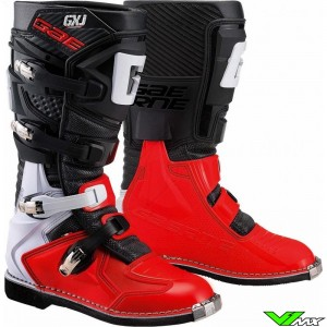 Gaerne GX-J Motocross Boots - Red