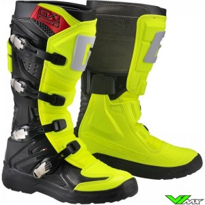 Gaerne GX-1 EVO Motocross Boots - Fluo Yellow