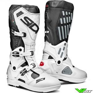 Sidi Atojo SRS Motocross Boots - Black / White