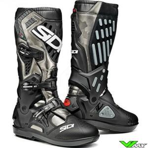 Sidi Atojo SRS Motocross Boots - Black / Grey / Camo