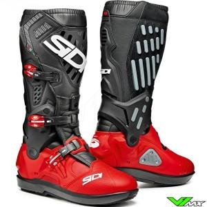Sidi Atojo SRS Motocross Boots - Black / Red