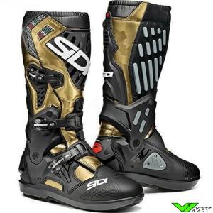 Sidi Atojo SRS Motocross Boots - Black / Gold
