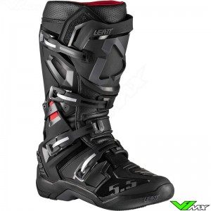 Leatt GPX 5.5 Flexlock Motocross Boots - Black
