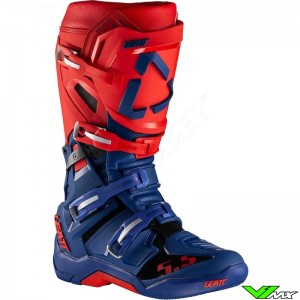 Leatt GPX 5.5 Flexlock Motocross Boots - Red / Blue