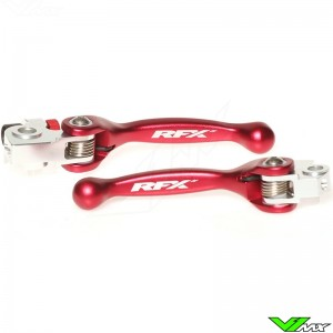 RFX Clutch / Front Brake Lever Set Red - Beta RR250-2T RR300-2T RR350-4T RR450-4T