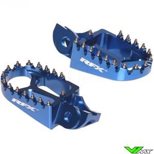 RFX Voetsteunen Blauw - Husqvarna FC250 FC350 FC450 FE250 FE350 FE450 FE501 TC85 TC125 TC250 TE250 TE300