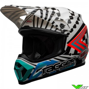 Bell MX-9 Motocross Helmet - Check Me Out / Tagger Designs