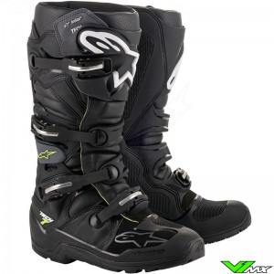 Alpinestars Tech 7 Drystar Enduro Boots - Black / Grey