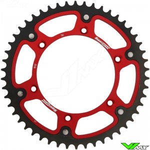 Supersprox Rear Sprocket Red - Suzuki Husqvarna GasGas Beta Sherco
