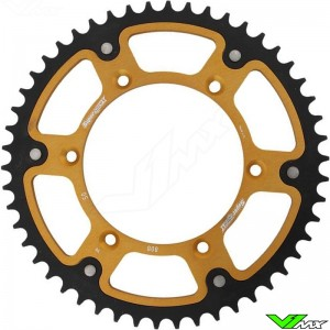 Supersprox Rear Sprocket Gold - Kawasaki Suzuki