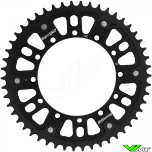 Supersprox Rear Sprocket Black - Kawasaki Suzuki