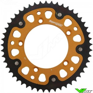 Supersprox Rear Sprocket Blackk - KTM 60SX 65SX Husqvarna TC65