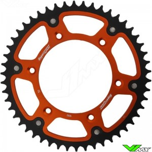 Supersprox Rear Sprocket Orange - KTM 60SX 65SX Husqvarna TC65