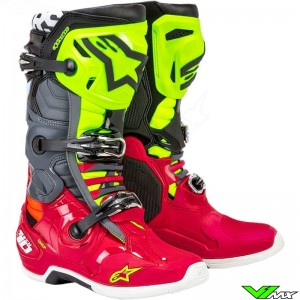 Alpinestars Tech 10 Crosslaarzen - Anaheim Limited Edition