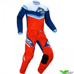 Kenny Track Kid 2020 Youth Motocross Gear Combo - Red / Navy