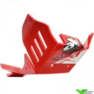 AXP Enduro Xtrem PHD Skidplate Red - Beta RR350-4T RR430-4T RR480-4T